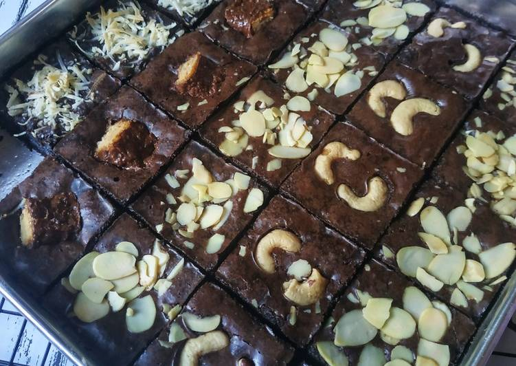 Resep Fudgy n Chewy Brownies
