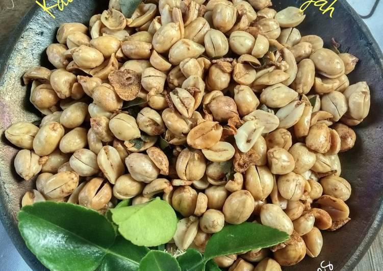Resep Kacang bawang Gurih & Renyah