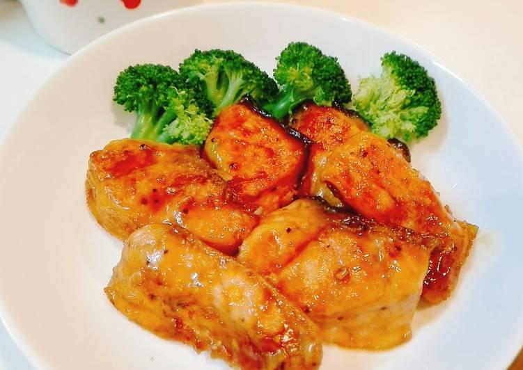 Resep Simple Salmon Teriyaki favorit anak