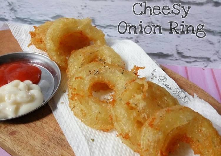 Resep Cheesy Onion Ring