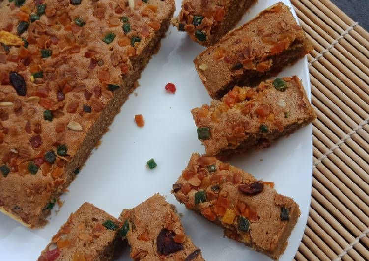 Resep English Fruit Cake VIRAL