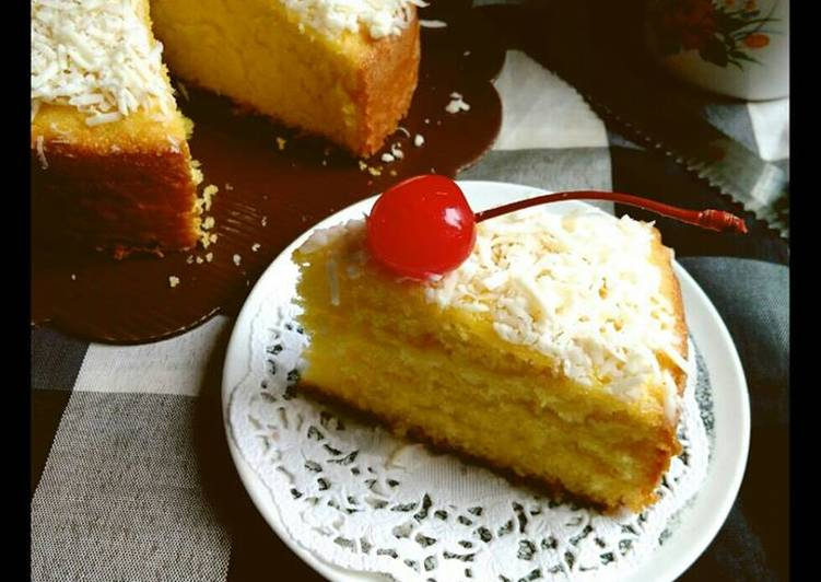 Resep Kaas Melk Cake