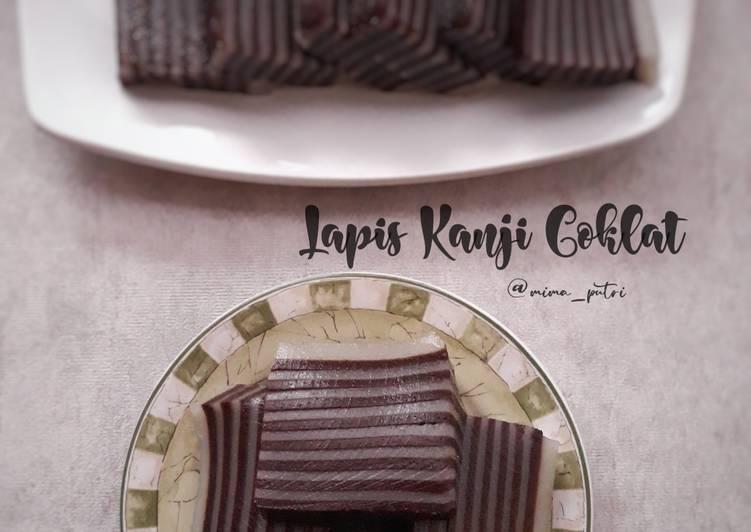 Resep Lapis Kanji Coklat