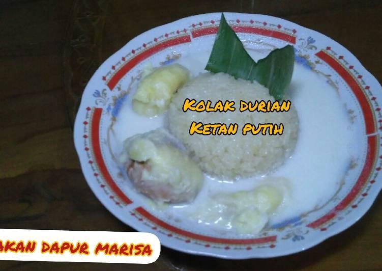 Resep Cara Membuat Kolak Ketan Durian Manis Nikmat dan Mudah