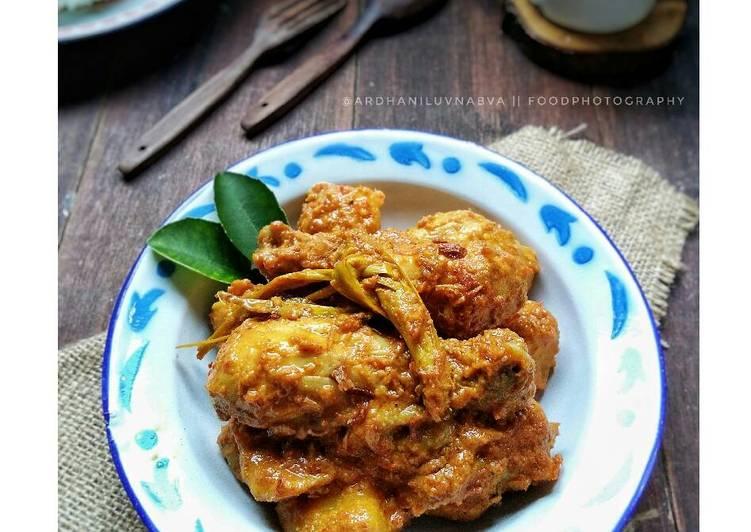 Resep Kalio Ayam #BikinRamadanBerkesan