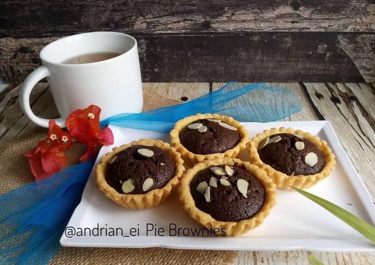 Resep Pie Brownies Putih Telur #pr_anekapie