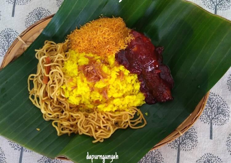 Resep Nasi kuning Banjar (Tanpa Santan)