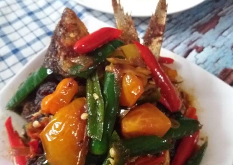 Resep Bandeng goreng siram saus Tauco