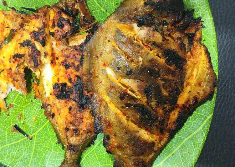 Resep Ikan Bakar bumbu Padang