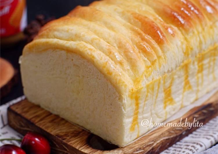 Resep Roti sobek sisir lembut milky #homemadebylita