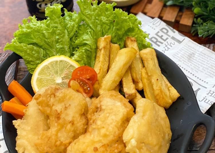 Resep Fish & Chip ala Tiger Kitchen
