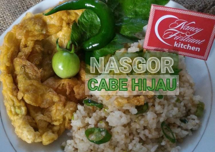 Resep Nasi Goreng Cabe Hijau