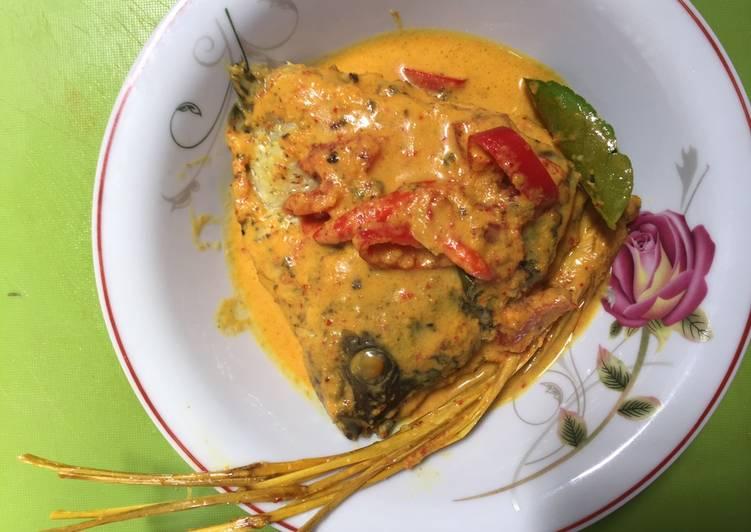 Resep Week 6 GA 3 : Gulai Kepala Ikan Gurame!