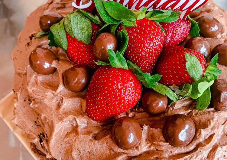 Resep Triple Choco Cake