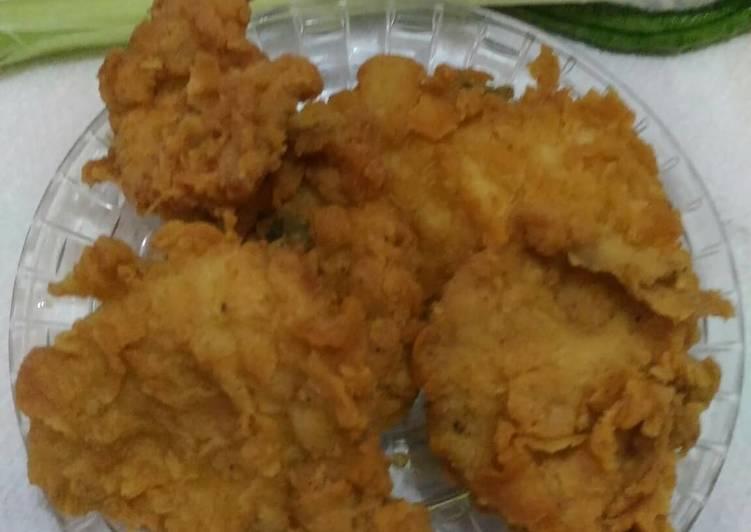 Resep Chicken Karaage Hot & Spicy