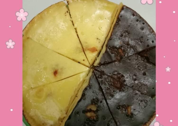 Resep Pie susu mix (original x milo)