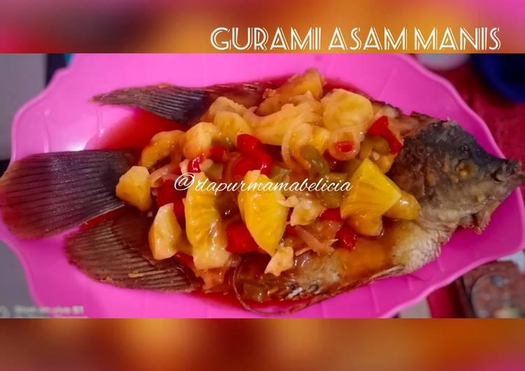 Resep Gurami Asam Manis