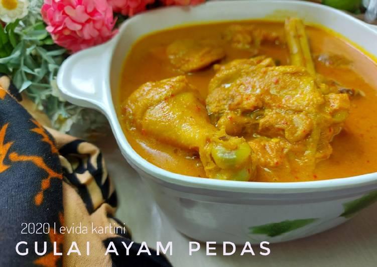 Resep Gulai Ayam Pedas