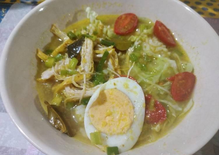 Resep Nasi Soto Ayam Praktis