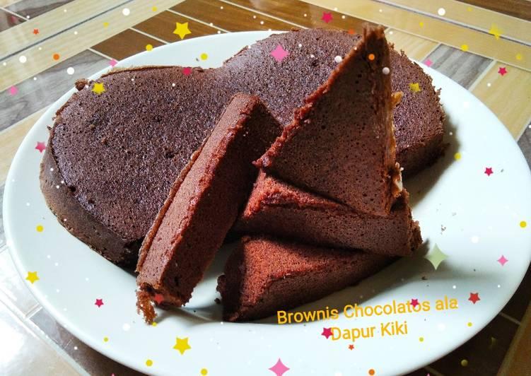 Resep Brownis Chocolatos