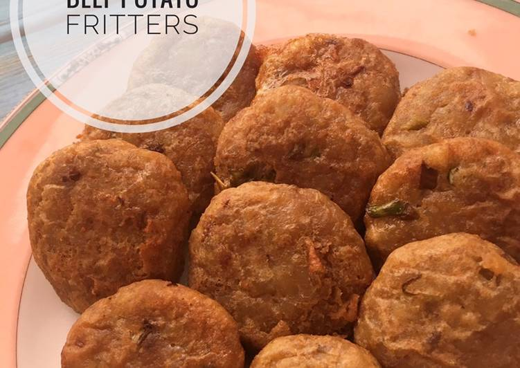 Resep Beef Potato Fritters
