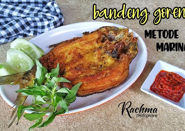 Resep Bandeng Goreng Metode Marinasi