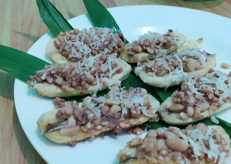 Resep Pisang Saus Kacang