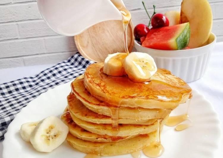 Resep Pancake Pisang | Banana Pancake