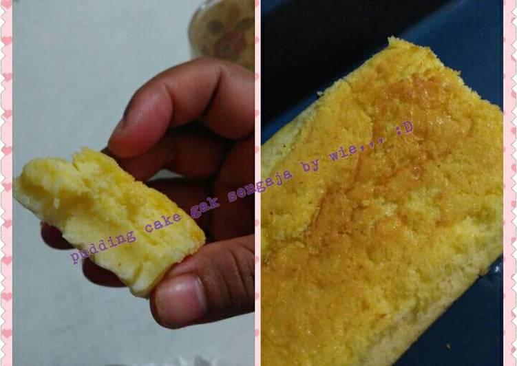 Resep Ogura cheese cake yg belum perfect,, jadinya pudding cake,, :D