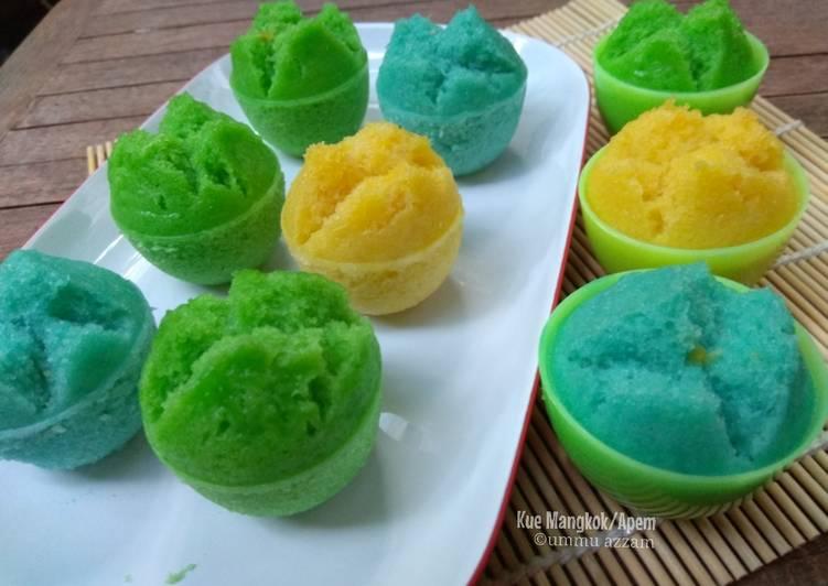 Resep Kue Mangkok/Apem