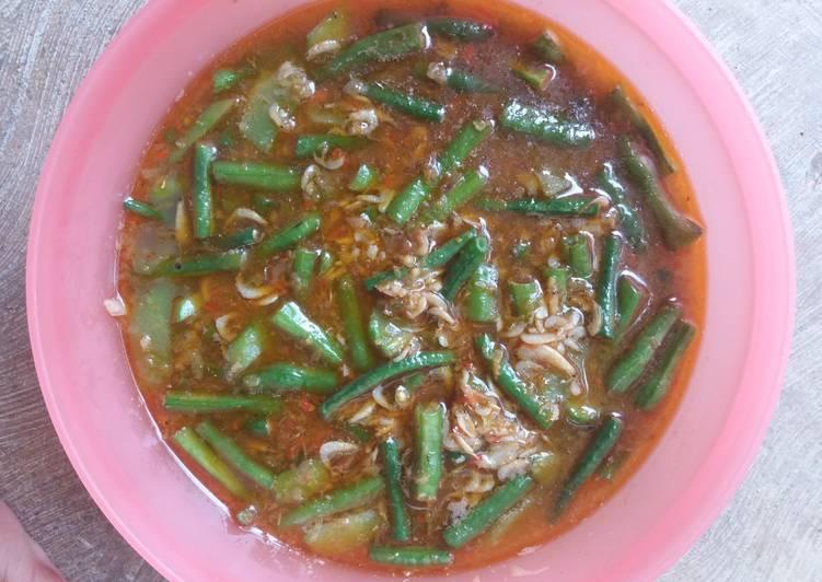 Resep Tumis Kacang Panjang Rebon