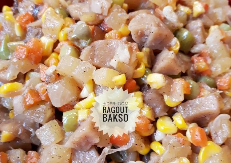 Resep 5Ragout Bakso (isian pastel/risoles)