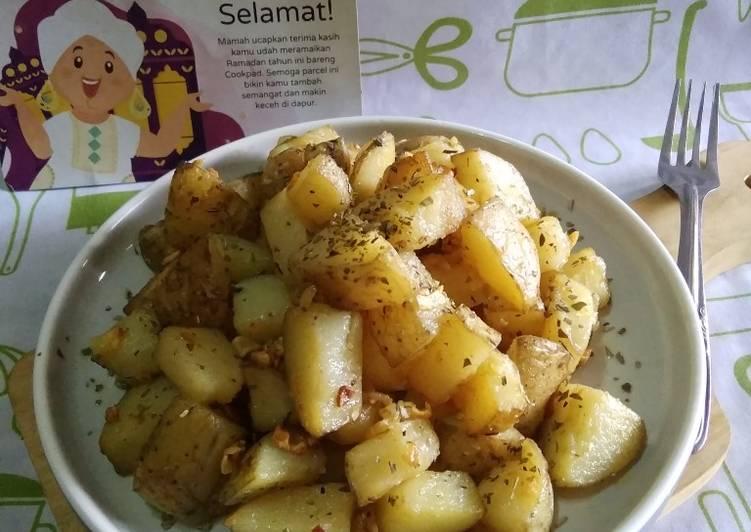 Resep Garlic Potato