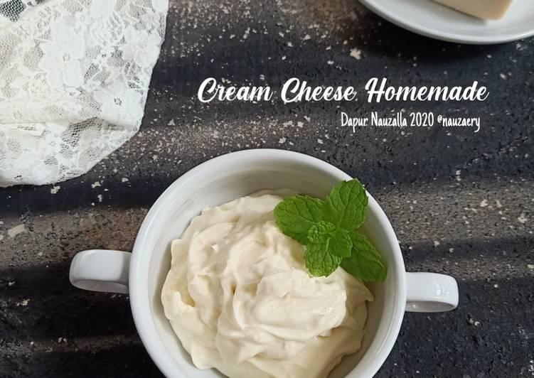 Resep Cream Cheese Homemade