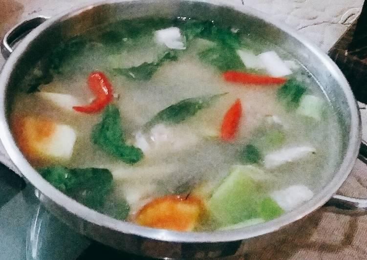 Resep Sup Gurame Lemon
