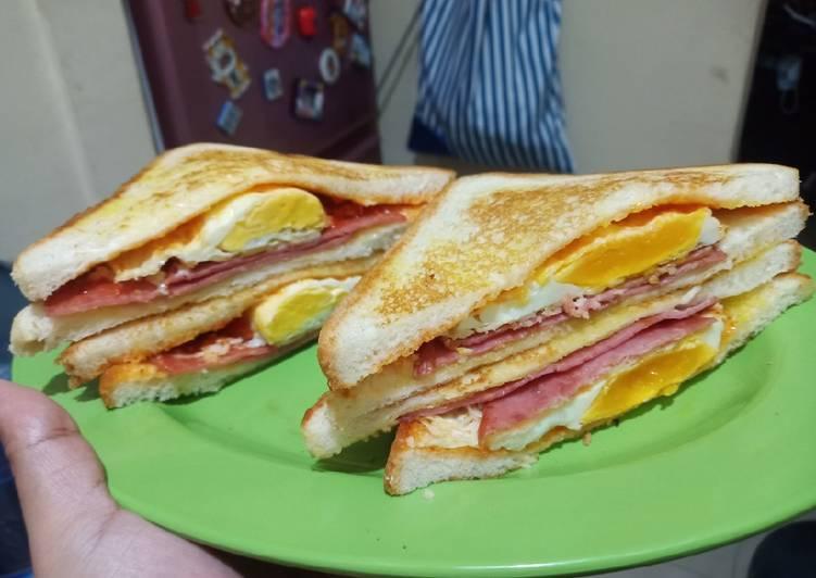 Resep Simple Sandwich