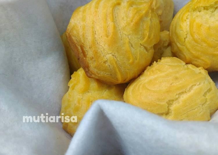 Resep Kulit soes (lembut kokoh)