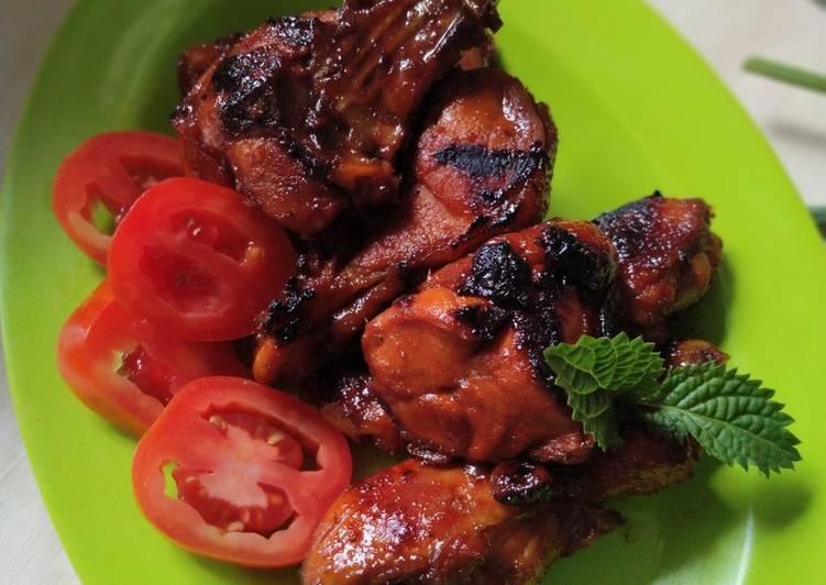 Resep Ayam bacem bakar teflon