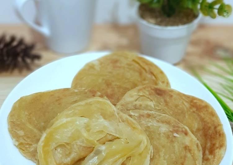 Resep Roti Maryam / Roti Canay berlapis tipis