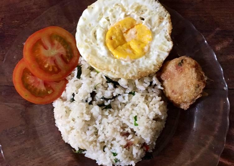 Resep Nasi goreng kemangi akhir bulan