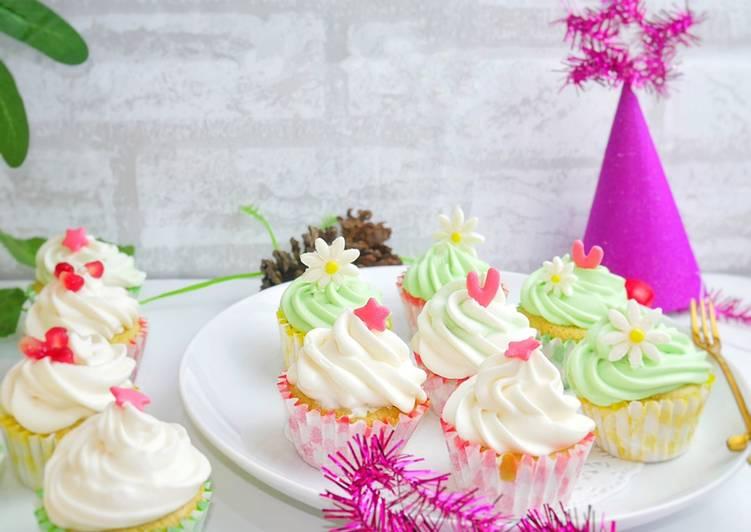 Resep Matcha Sponge Cupcakes