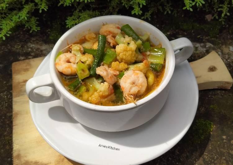 Resep Sup Bunga Kol Udang