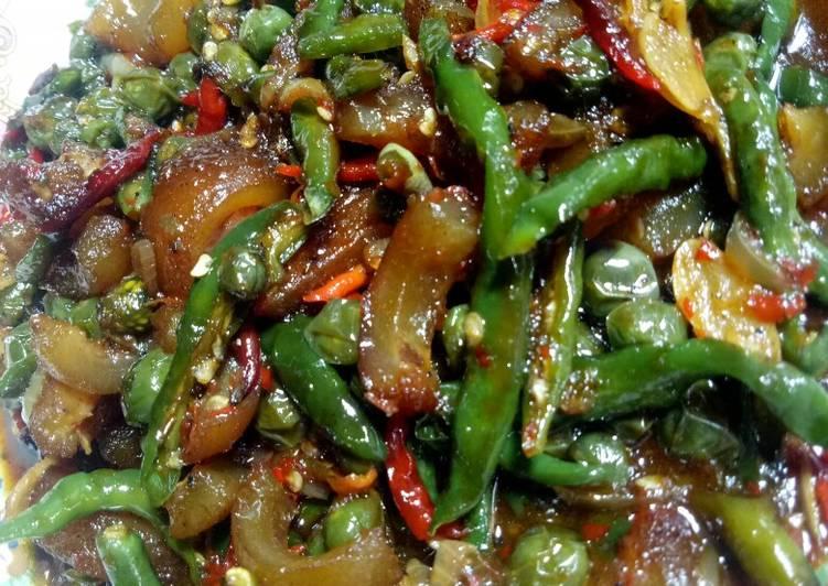 Resep Sambal hijau kikil leuncha