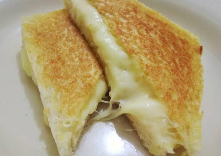 Resep Hokkaido Cheese Toast Simple