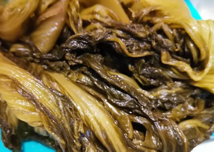 Resep Bikin asinan sawi asin (ham choy/ kiam chai) homemade murmer