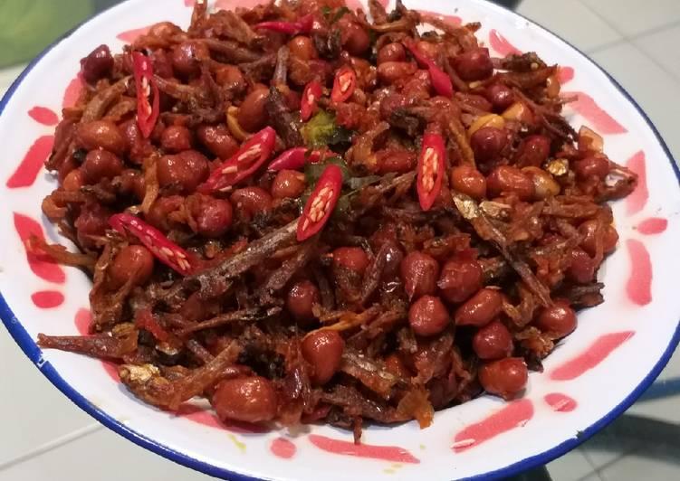 Resep Teri kacang