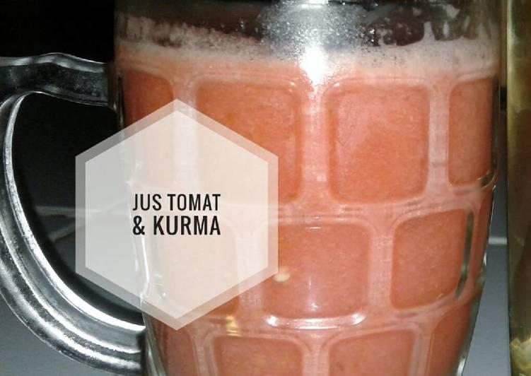 Resep Jus tomat & kurma