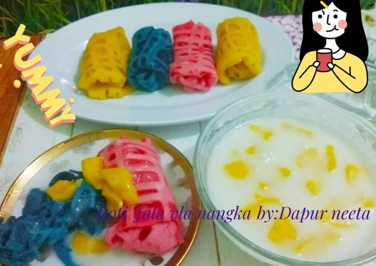 Resep Roti Jala vla nangka