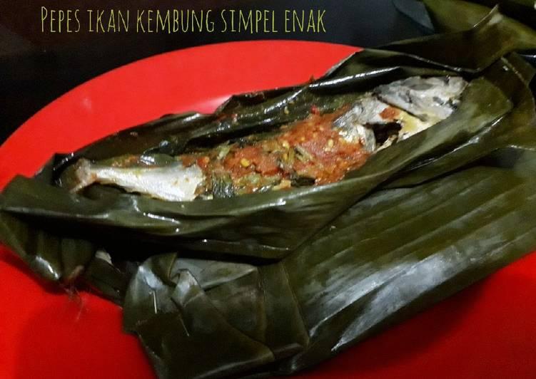 Resep Pepes ikan kembung simpel enak