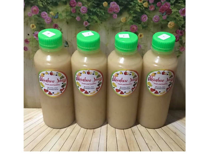 Resep Diet Juice Jicama Kiwi Nectarine Lime